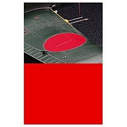 ディテールアップ用素材 赤色フィニッシュ(曲面追従シート/半ツヤ仕上)