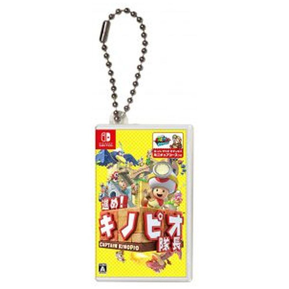 【在庫限り】 Nintendo Switch専用カードケース カードポケットmini 進め!キノピオ隊長 HACF-03KP HACF-03KP_1