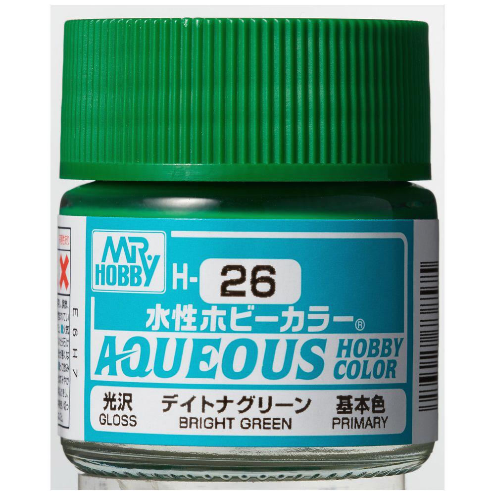水性ホビーカラー H26 デイトナグリーン