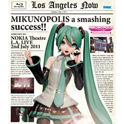 "MIKUNOPOLIS in LOS ANGELES ""はじめまして、初音ミクです"" 【ブルーレイ ソフト】   [ブルーレイ]"