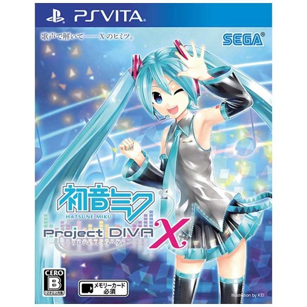 〔未使用品〕 初音ミク-Project DIVA- X 【PSVita】