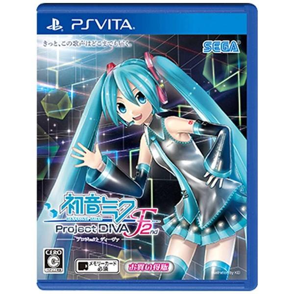 〔中古品〕初音ミク -Project DIVA- F 2nd お買い得版【PS Vitaゲームソフト】   [PSVita]