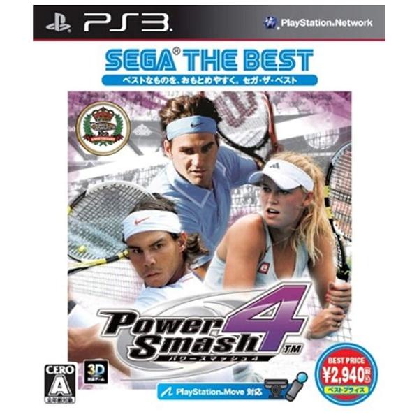 パワースマッシュ4 SEGA THE BEST【PS3】   [PS3]