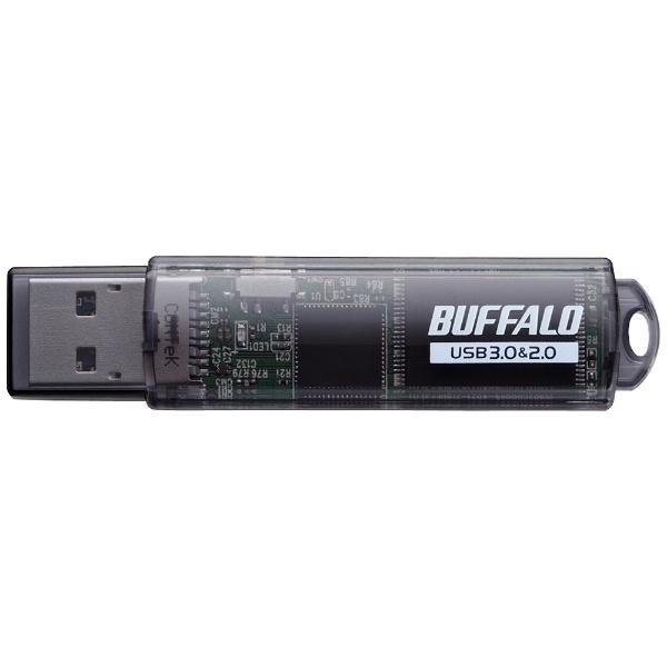 RUF3-C64GA-BK USB3.0対応 USBメモリー スティックタイプ (64GB/ブラック) 【ドラゴンクエスト�]動作確認済み】_1