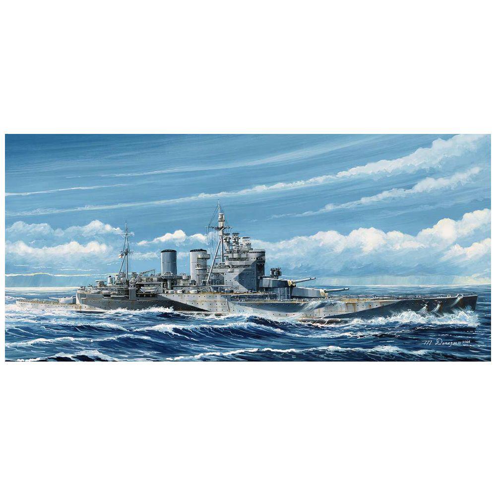 1/700 WWII 英国海軍 巡洋戦艦 レナウン 1945(W221)
