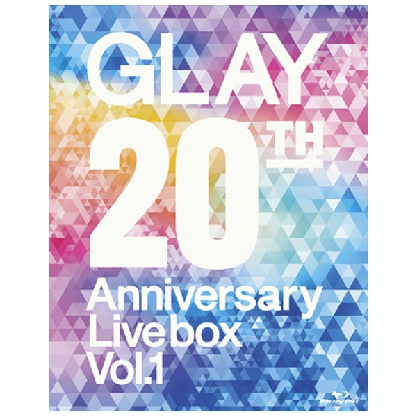 GLAY/GLAY 20th Anniversary LIVE BOX VOL.1 DVD