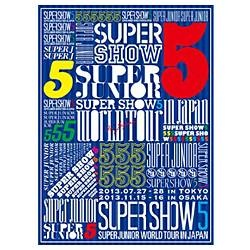 SUPER JUNIOR/SUPER JUNIOR WORLD TOUR SUPER SHOW5 in JAPAN 初回限定生産盤 【DVD】    [DVD]