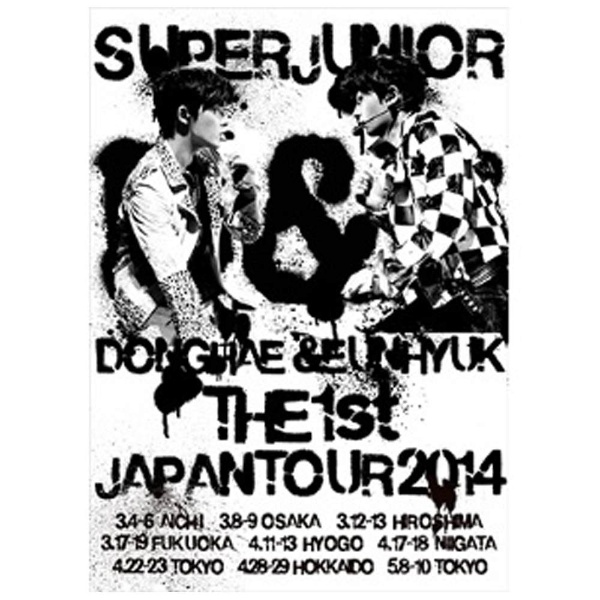 SUPER JUNIOR DONGHAE & EUNHYUK/SUPER JUNIOR D&E THE 1st JAPAN TOUR 2014 初回限定生産盤 【DVD】   [DVD]
