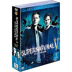 SUPERNATURAL/スーパーナチュラル 5<フィフス> セット1 ソフトシェル DVD