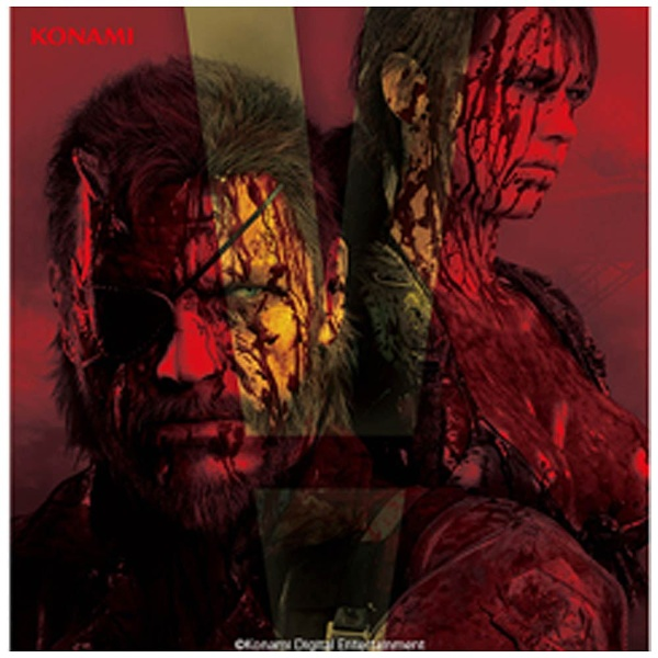 METAL GEAR SOLID 5 OST THE LOST TAPES 初回盤 CD