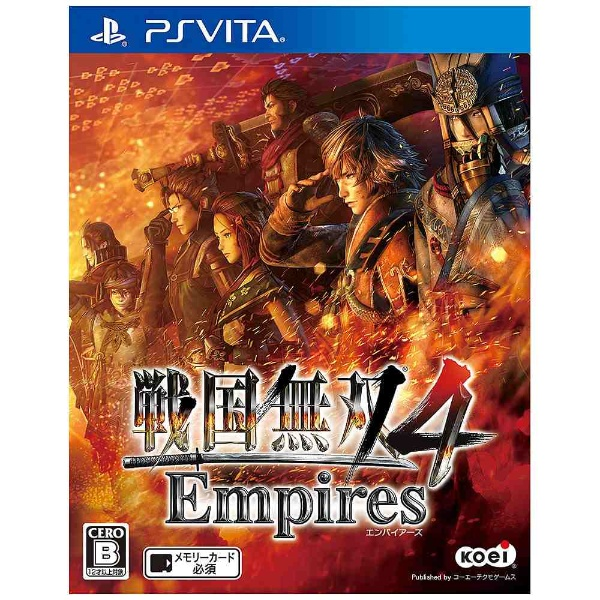 〔中古品〕戦国無双4 Empires 【PSVita】