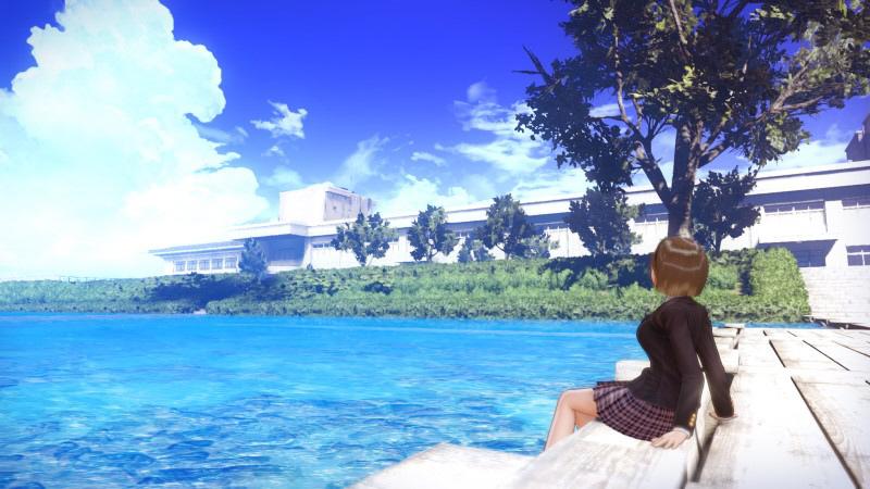 【特典対象】 BLUE REFLECTION TIE/帝 プレミアムボックス(ソフマップ限定絵柄) 【PS4ゲームソフト】 ◆ソフマップ・アニメガ特典「オリジナルB2タペストリー」_4