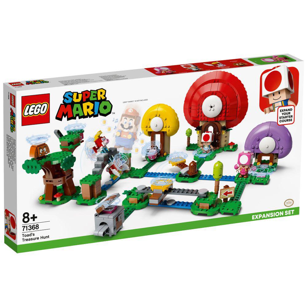 LEGO(レゴ) 71368 スーパーマリオ キノピオと宝さがし_1